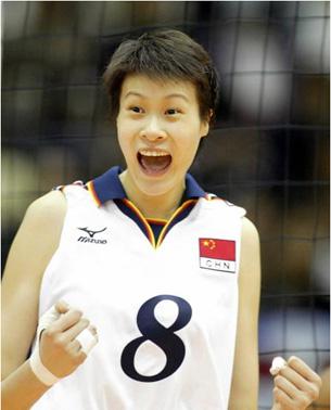 中国3-1力克古巴 郎平带女排全胜摘冠