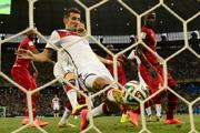 克洛泽替补出场救主 德国2-2战平加纳