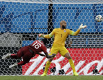 G组次轮比赛美国队2-2平葡萄牙