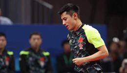 张继科醒了逆转朝鲜 亚乒赛中国队3-0直落朝鲜