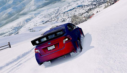 山地赛车雪地激情与速度 赛车比赛高清大全视频