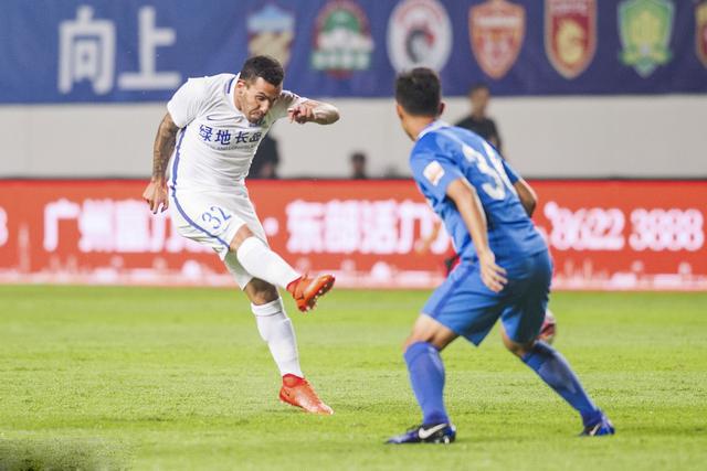 2017中超第11轮 特维斯复出富力0-0申花