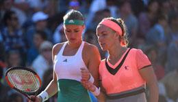 2017法国网球公开赛 梅拉德诺维奇跨国组合惨遭出局