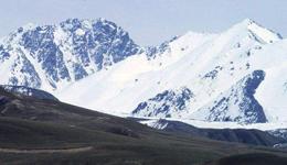 阿克苏北壁主要攀登路线图 阿克苏峰经典训练山峰