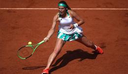 2017法国网球公开赛1/4决赛 黑马奥斯塔彭科晋级决赛