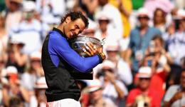 2017法网男单冠军 纳达尔获第15座大满贯单打冠军