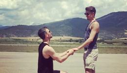 冰滑冠军雷德福出柜恋情 花滑与冰舞运动员出柜求婚
