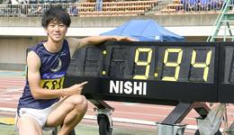 日本大学超风速跑出9秒94 多田修平刷新日本百米跑新纪录