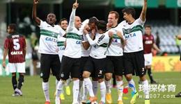 2017巴西甲盘口解析 科里蒂巴VS巴伊亚