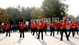 2017上海第三届广场舞大赛 体育总局鼓励年轻人跳广场舞