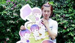 粉丝团为国乒女单名将丁宁庆生 丁宁与粉丝欢度27岁生日图片