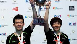 郑思维/陈清晨摘得奥羽混双冠军 国羽澳洲公开赛获混双金牌