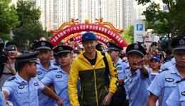宁泽涛亮相赣州百米自由泳赛 宁泽涛因腰伤再次退赛