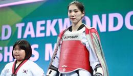 2017跆拳道世锦赛韩国站 郑姝音不敌美国选手获铜牌