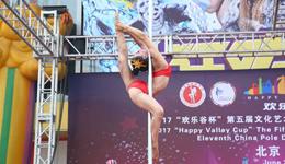 2017欢乐谷杯管舞锦标赛 刘诗雨斩获女子钢管舞总冠军
