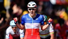 2017环法自行车赛第四赛程 FDJ车队德玛尼获赛段冠军
