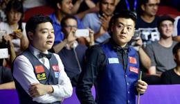 中国a队4-3逆转英国夺冠 丁俊晖锁定决胜局助中国夺冠