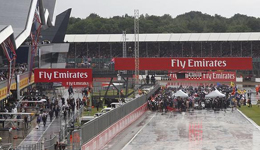2017F1英国站银石赛道 汉密尔顿主场作战银石赛道