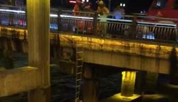 十堰市男子夜跑被困 十堰市夜跑男被困立交桥下