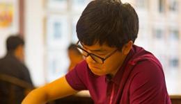 中国围棋甲级联赛第十轮 柯洁大胜韩国外援获22连胜