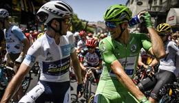 2017环法自行车赛第十六赛段 太阳网马修斯拿下赛段冠军