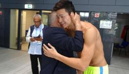 世界泳协高层与孙杨邂逅 孙杨备战2017游泳世锦赛