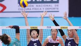 2017u20女排世锦赛中国女排 中国女排小组第一晋级八强