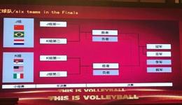2017世界女排大奖赛总决赛 中国女排与巴西荷兰争夺晋级权