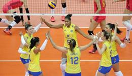 巴西女排首战不敌中国女排 巴西队长赛后大赞中国女排