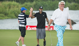 NBA球星打高尔夫球盘点 艾弗森打高尔夫球挂零完赛