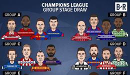 2017欧冠32强分组 皇马VS多特和巴萨VS尤文
