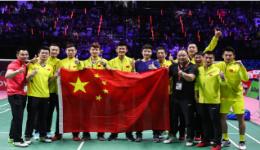 世界羽联超级巡回赛冠军排名:中国共16冠