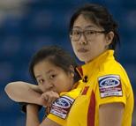 世锦赛中国女壶两度丢3分不敌俄罗斯 6胜3负列第6