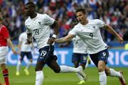 法国4-0大胜挪威集锦