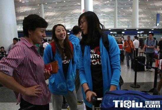 出征瑞士精英赛 中国女排名单有变