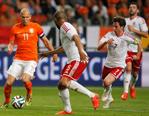 罗本传射伦斯锁定胜局 荷兰2-0威尔士