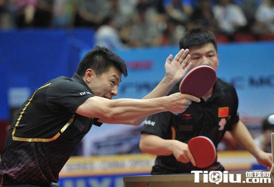 中乒赛:中国提前将男双冠军收入囊中