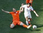 荷兰2-0胜智利将以头名出线