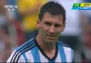阿根廷3-2尼日利亚梅西梅开二度