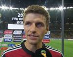 穆勒:德国队会继续努力要拿大力神杯