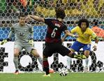 半决赛首场德国7-1狂扫巴西