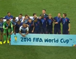 荷兰队出席季军颁奖仪式