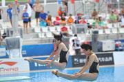 跳水世界杯-吴敏霞施廷懋双人三米板晋级