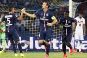 热身赛-伊瓜因伊布进球 那不勒斯1-2巴黎