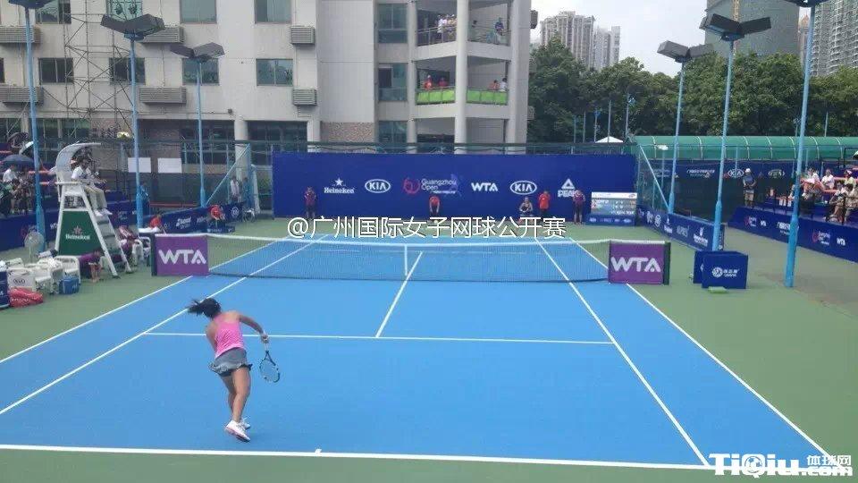 广网朱琳2-0完胜文奇 晋级女单第二轮