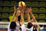 亚运复赛中国男排0-3不敌日本 失小组头名