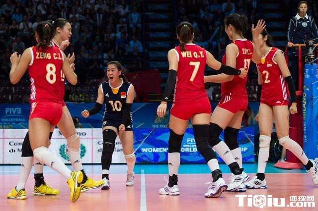 女排世锦赛中国逆转多米尼加 有望进四强