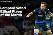 兰帕德当选曼城9月最佳球员