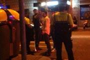巴萨后卫不满违章停车 辱骂交警并扔罚单