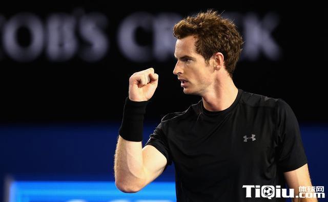 穆雷鏖战四盘晋级 连续六年进澳网八强